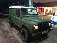 Land Rover defender 110 van 200tdi 1993 l reg 118,000