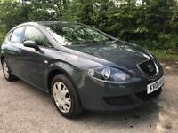 2008 SEAT LEON REFERNCE 1.6 ONE OWNER FROM NEW,LONG MOT (MUST BE SEEN)