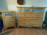 House clearance super king bed chest of drawers mirrors bedside cabinets art and more