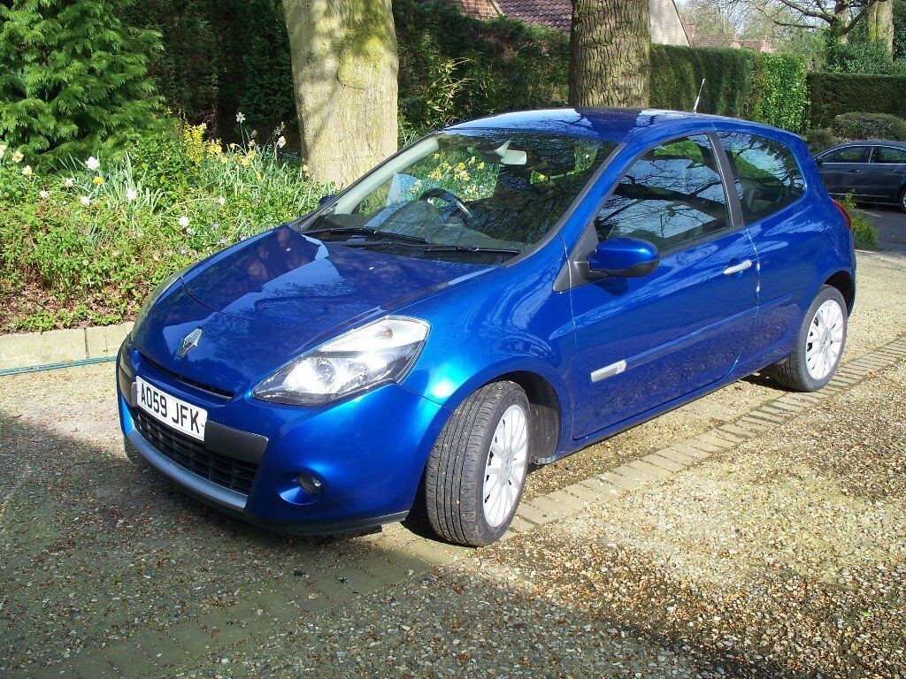2009 59 renault clio 1 2 tce dynamique 3dr in norwich. Black Bedroom Furniture Sets. Home Design Ideas