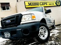 2010 Ford Ranger XL SUPERCAB + Low KM + Hitch! ONLY $119/bi-week