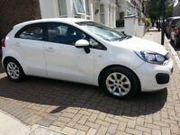 2014 (64 reg) KIA Rio 1 Air 1.2 Petrol manual. 5 door Hatchback. Full Service History. Low mileage