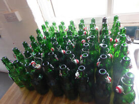 56 Grolsch bottles swing top home brew