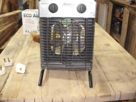 Rhino 3kw 110v 32amp industrial heater