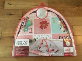 BRAND NEW Mamas & Papas Baby Gym and Playmat - Strawberry Sundae