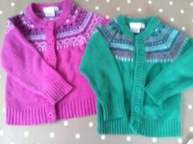 Jojo maman Bebe wool jumpers age 2/3