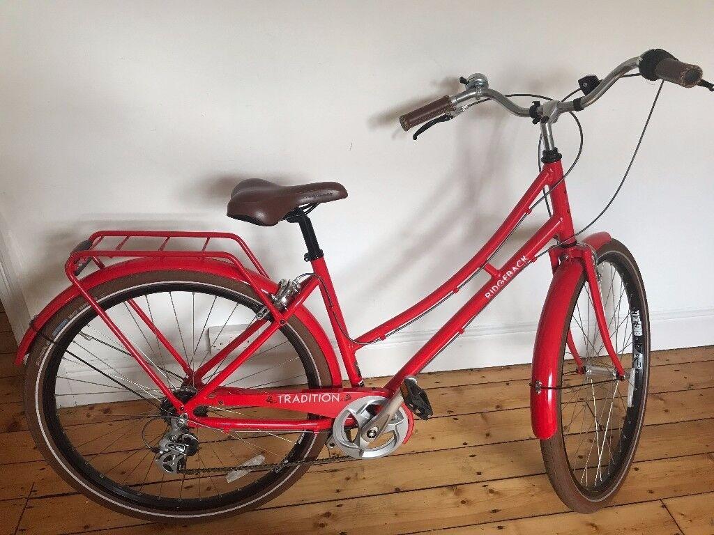 Women's Pillar Box Red Ridgeback Tradition Bike