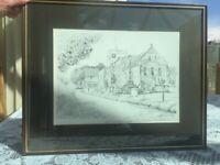 Framed Print -Berkswell