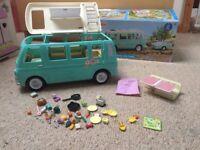 Sylvanian Families Camper Van With Box