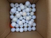50 MIXED USED GOLF BALLS