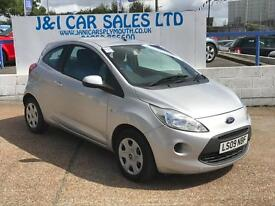 FORD KA 1.2 STYLE 3d 69 BHP A GREAT EXAMPLE INSIDE AND OUT (silver) 2009