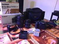 Canon 600D with 2 lenses and tripod FREE