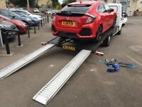 Vehicle Recovery, Collection & Delivery Service, Cambridge, Surrounding Areas & Nationwide