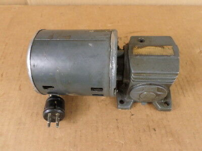Boston Gear Right Angle Drive W Attached Motor