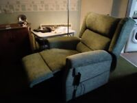 Electric reclining chair smoke free home
