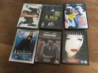 Selection of DVDs £1.00 each