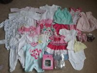 Selection of Baby Clothes & Accessories, size 0-3 months(very good condition)