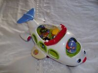 Fisher price aeroplane with sounds and people