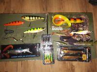 Fishing lures savagear abu Garcia real eels