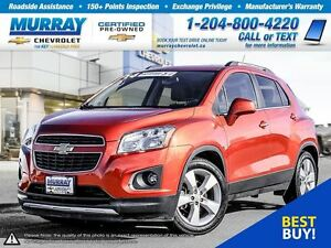2014 Chevrolet Trax FWD 4dr LTZ *Low Kilometers, Bluetooth, Prem