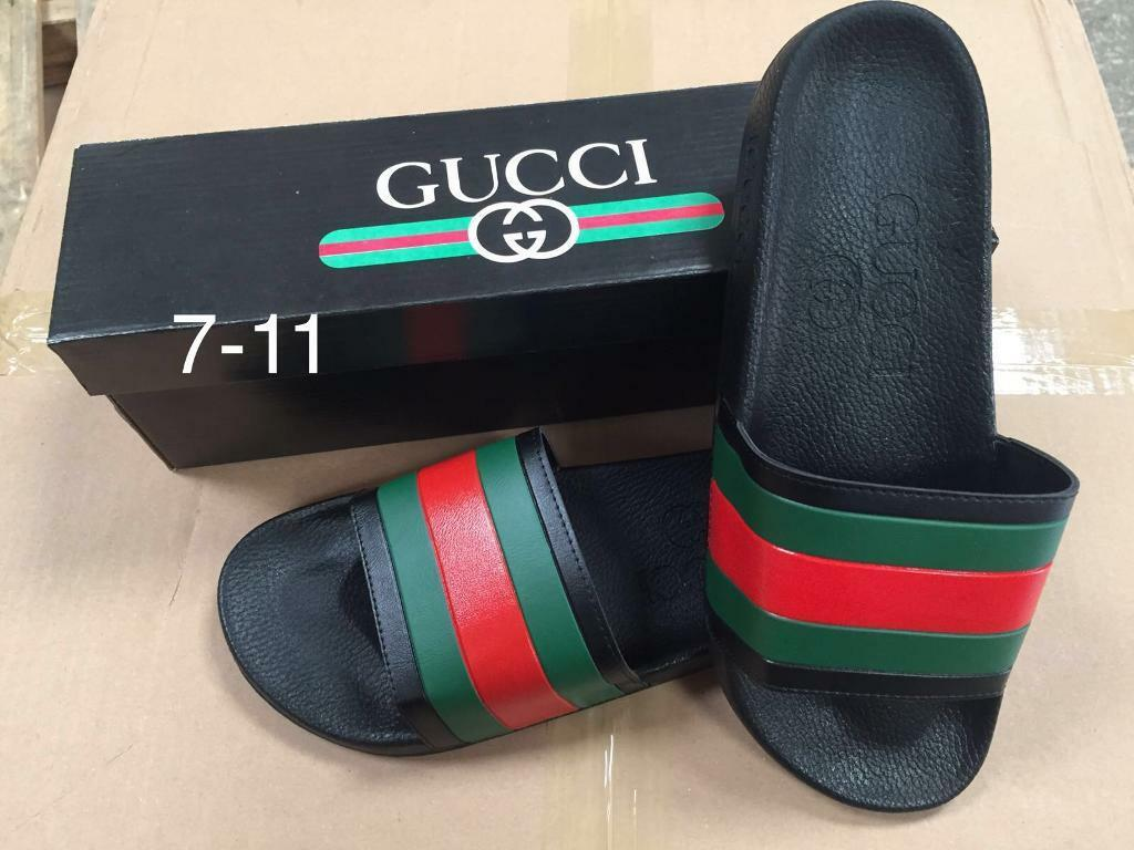 a462ad8f55715 Gucci sliders slides slippers brand new in box all sizes £20 bargain ...