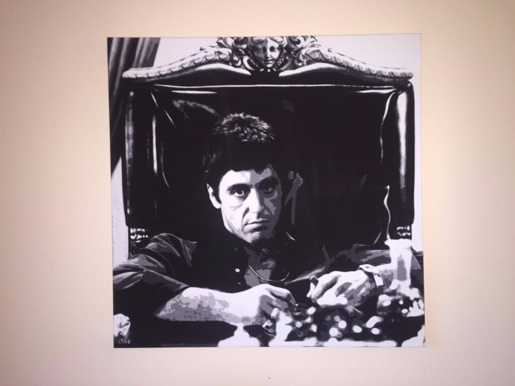 Scarface tony montana canvas art print 30 x 30 x 15 in scarface tony montana canvas art print 30 x 30 x 15 jeuxipadfo Images