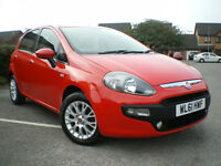 * FIAT PUNTO 1.2 EVO (Start/Stop 5DR * 3 MONTHS WARRANTY*12 MONTHS MOT* L@@KS AND DRIVE LIKE NEW***