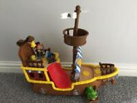 Jake and the neverland pirates toy ship