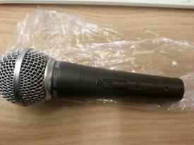 SHURE SM58S brand new mic