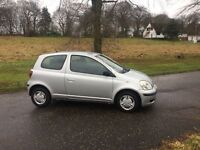 Toyota Yaris Low Mileage 51,000.. MOT JANUARY 2018...
