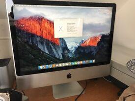 "Apple iMac 24"", 2.66ghz Core 2 Duo, 4Gb Ram, 640b, Nvidia 9400, El Capitan, Immaculate!"
