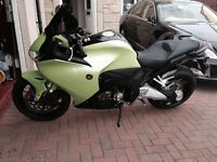 Honda VFR 1200 2010 Wrapped in ultimate green & carbon