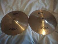 """10"""" Zildjian ZHT Hi-Hat Cymbals"""