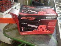 Brand new chainsaw in box