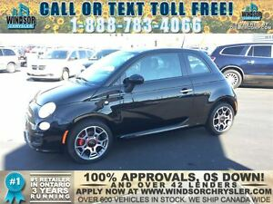 2015 Fiat 500 Sport - WE FINANCE GOOD AND BAD CREDIT