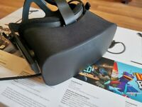 Oculus Rift Boxed and barely used