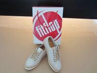 FitFlop Super T Sneaker, Urban White, UK 4
