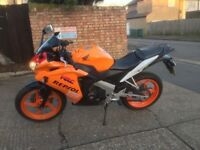 da cbr 125 repsol low mileage