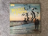 Mamas & Papas Greatest Hits vinyl LP