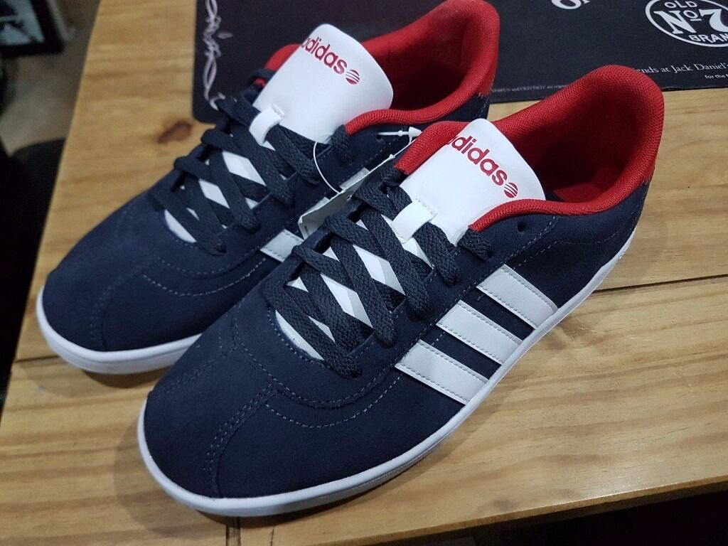 men 39 s adidas vl neo court suede trainers size 7 in bransholme east yorkshire gumtree. Black Bedroom Furniture Sets. Home Design Ideas