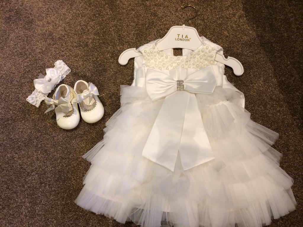 Bridesmaid/Christening dress size 1