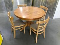 Solid wood table and chairs, Free delivery
