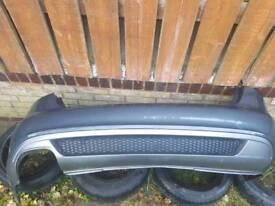 Audi A4 B8 Saloon LZ7H Rear Bumper