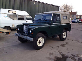 """land Rover series 3 1972 very clean galv chassis full rebuild 88"""" tax free diesel classic"""