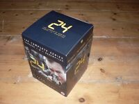 24 The Complete Series Seasons 1-8 + Redemption + Special Features DVD Box Set UK – like new