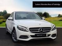 Mercedes-Benz C Class C220 BLUETEC SPORT PREMIUM (white) 2014-10-22