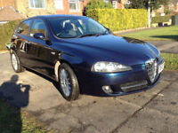 Alfa 147 5dr Lusso AirCon + Leather + Full Mot