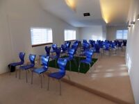20 Plastic Meeting Chairs