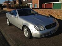 Mercedes slk convertible, great condition