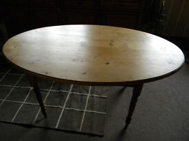 Pine Table by Rivivals of Dingwall